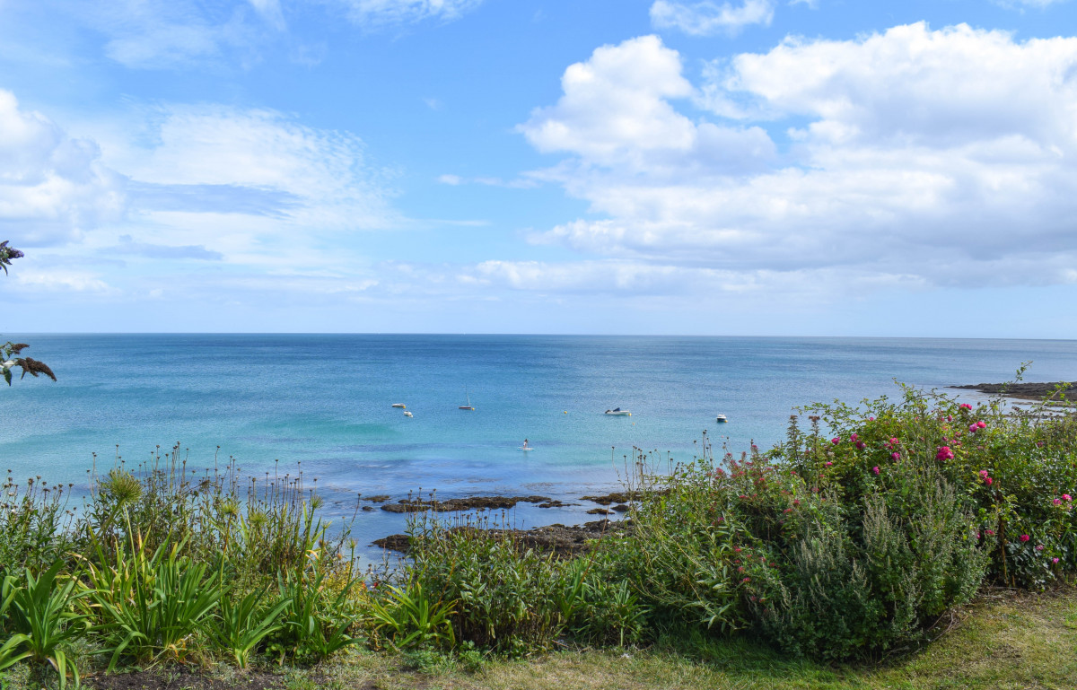 Porthcurnick beach Cornwall Roseland Peninsula Portloe