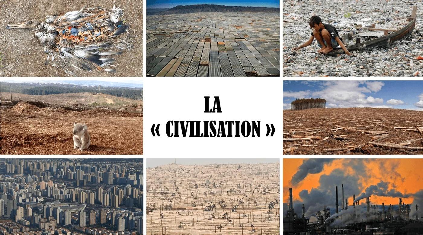 La civilation aujourd'hui