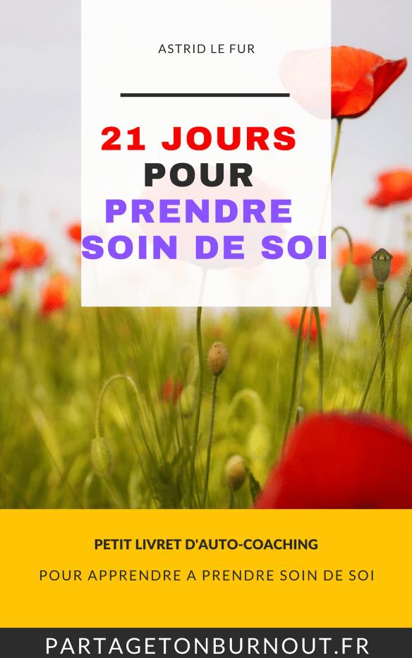 21 jours pour PRENDRE SOIN DE SOI