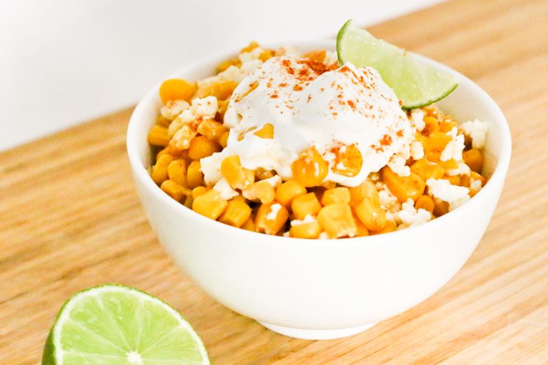 Esquites Mexican Street Corn Salad Recipe Dishmaps