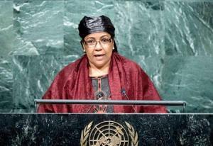 La Ministre nigérienne du Plan, Aichatou Kane Boulama