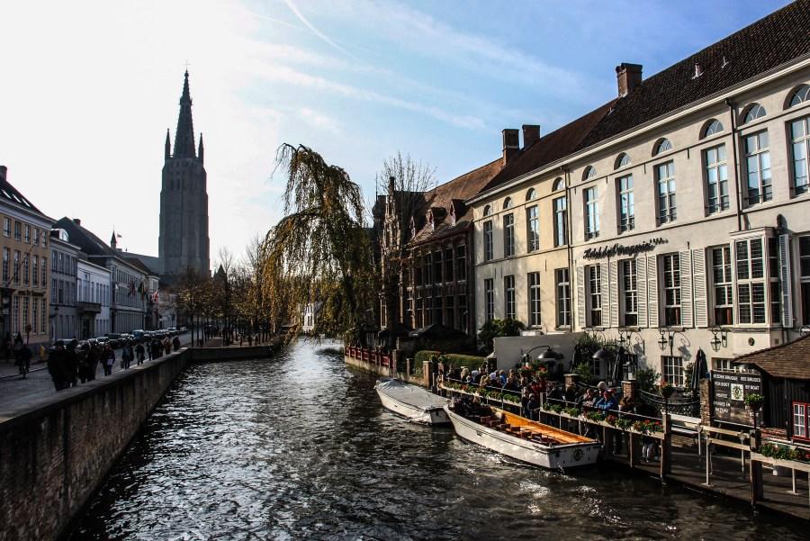 Rozenhoedkaai, il porticciolo del sale - Bruges
