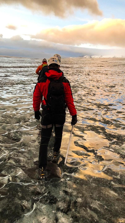 L'escursione sul Ghiacciaio del sud, Islanda