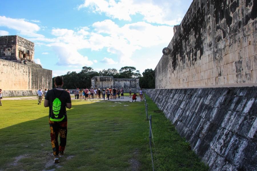 Campo da gioco della Pelota, Chichén Itzà - Messico