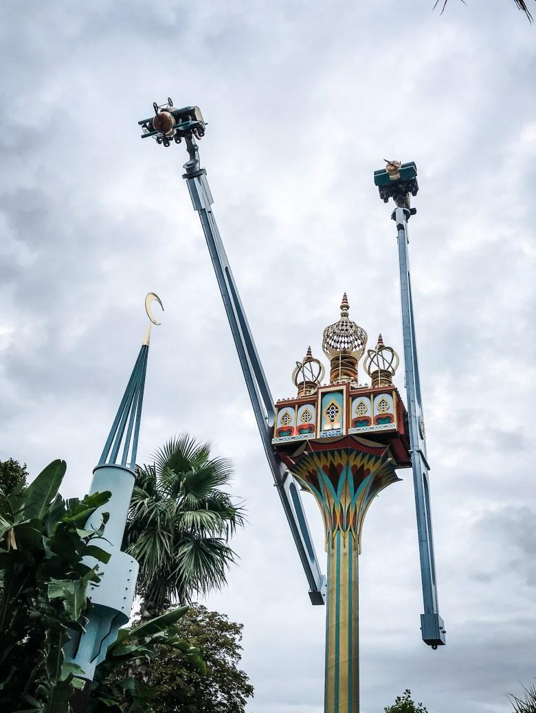 Tivoli Gardems, il Luna Park di Copenaghen