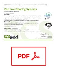 Technical  Parterre Flooring Systems