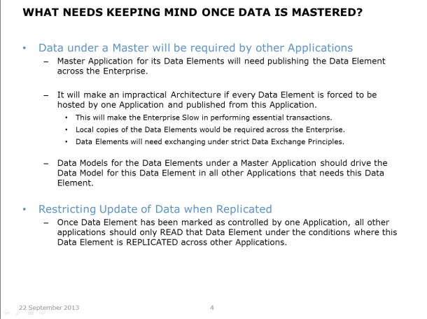 Centralising Master Data - Slide 4 - Updated