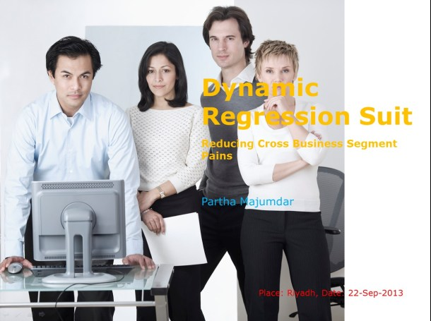 Dynamic Regression Suit - Slide 1