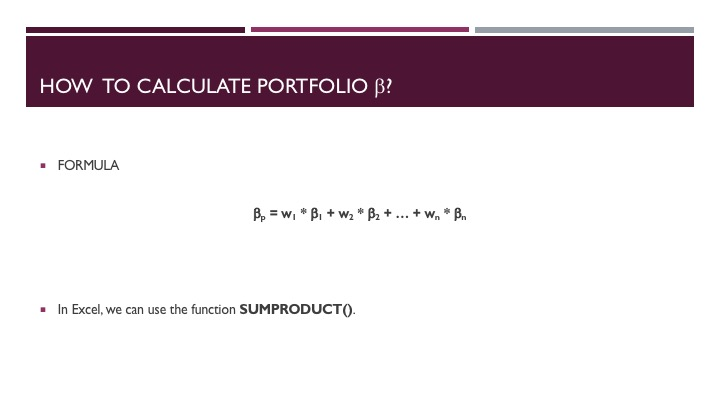 Evaluating a Mutual Fund Portfolio - Slide 6
