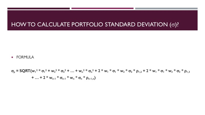 Evaluating a Mutual Fund Portfolio - Slide 8