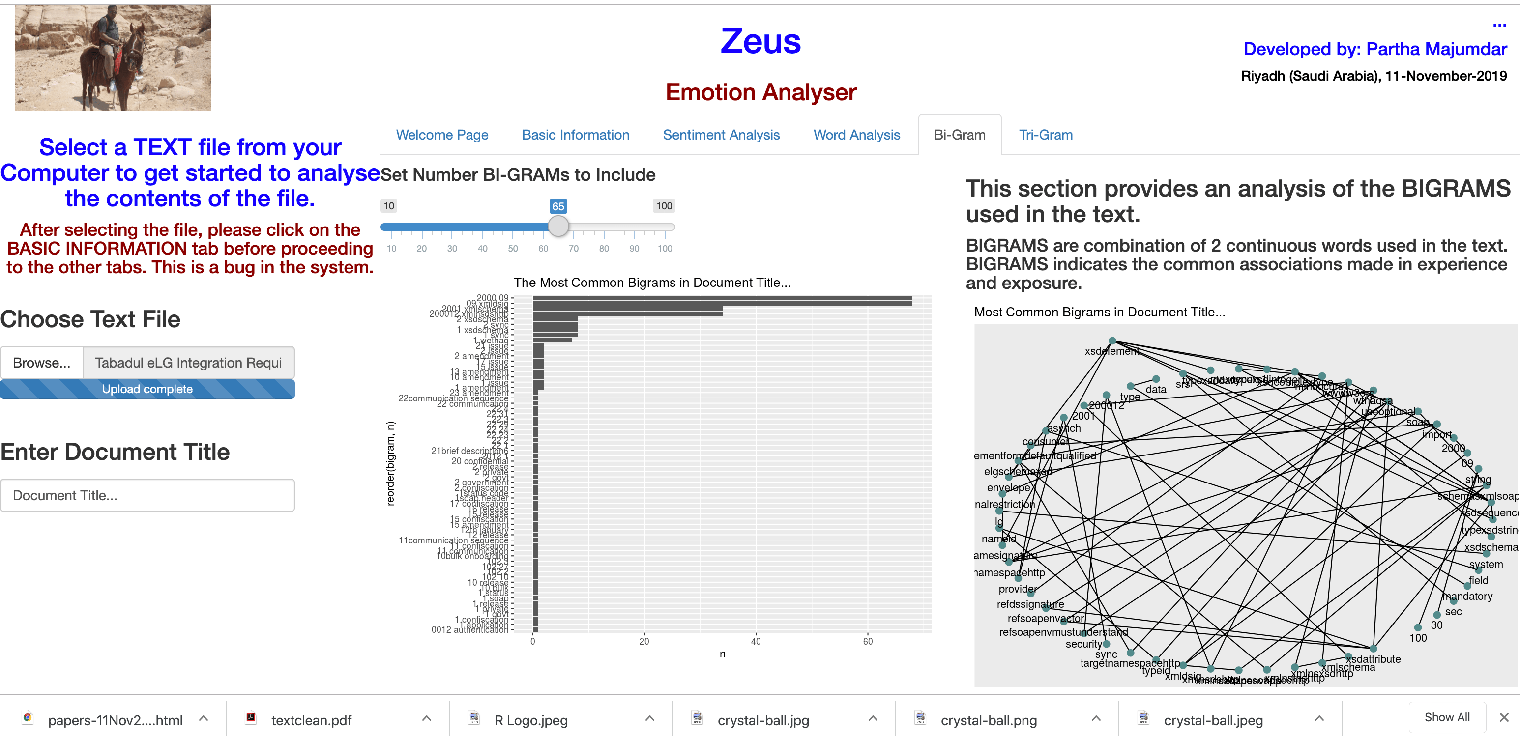 ZEUSg – Emotion Analyser