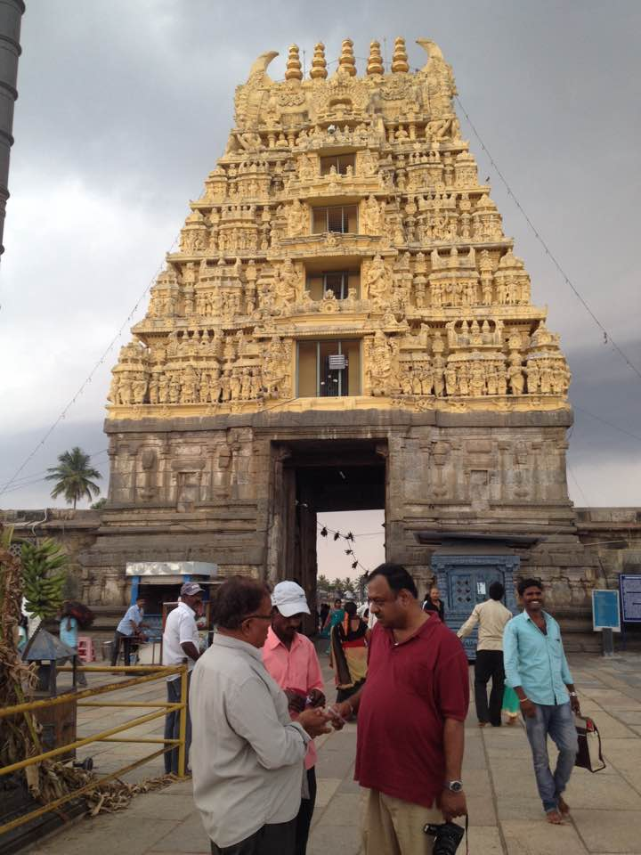 Entrance to the Channakesava Temple