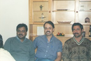 Myself, Ranjan Tikoo and Babu Dakshanamurthy