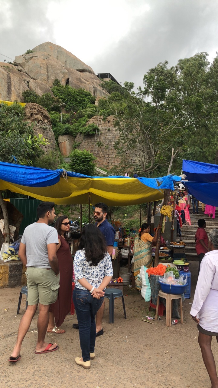 Food Stalls at the Temple Premises