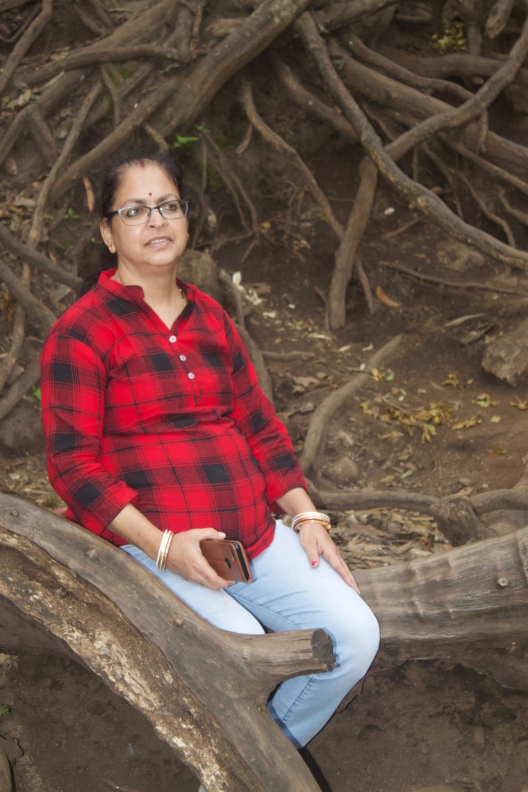 There is a huge Banyan Tree at Guna Caves. The root of this tree makes a wonderful scenery
