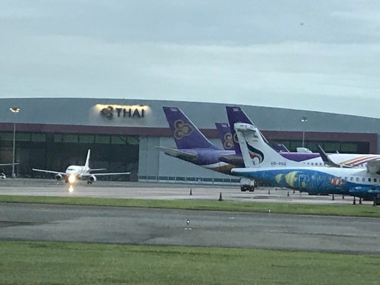 Thai Airways Hanger