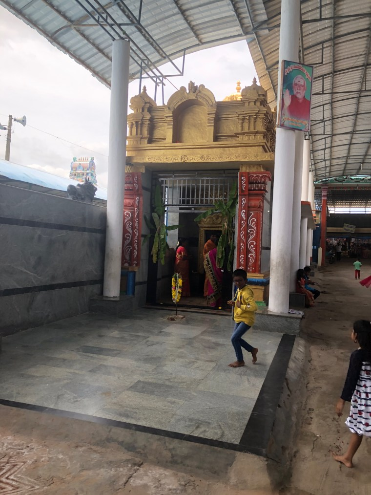 Lakshmi Temple at the entrance of Kotilingeshwara
