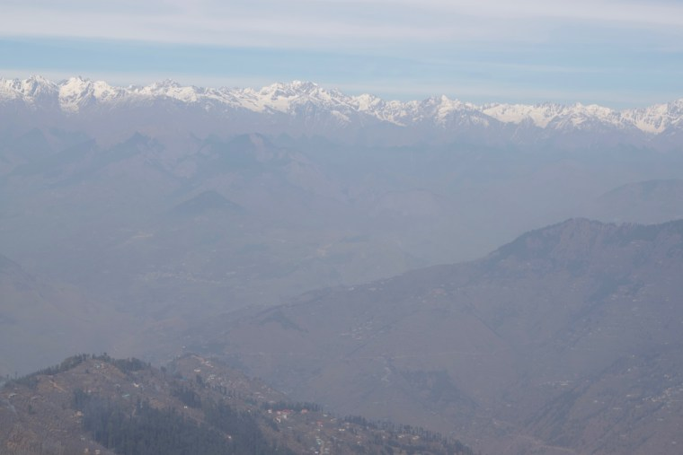 Yet another view of Shivalik Range