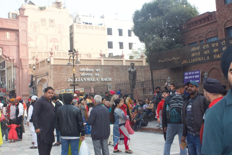 Entrance to Jalianwala Bagh