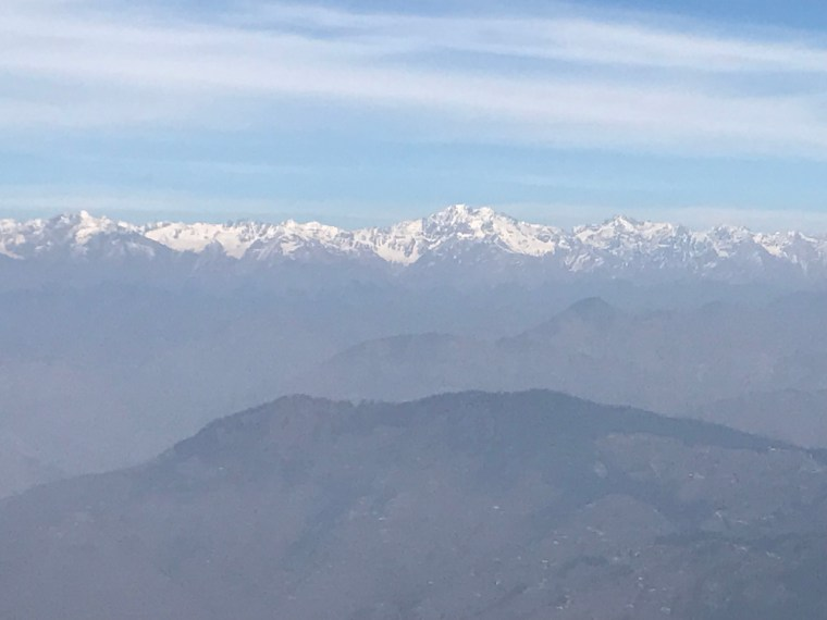 View of Shivalik Range
