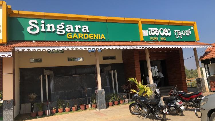 We had breakfast at Singara Gardenia