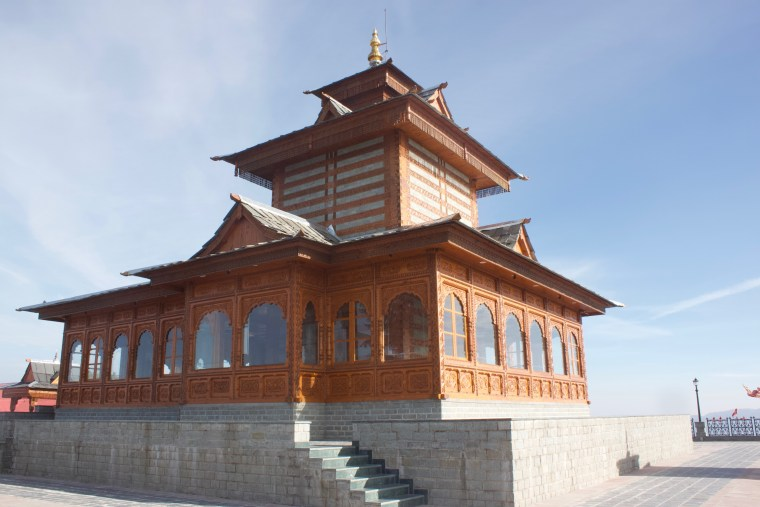 The main Tara Devi Temple Building