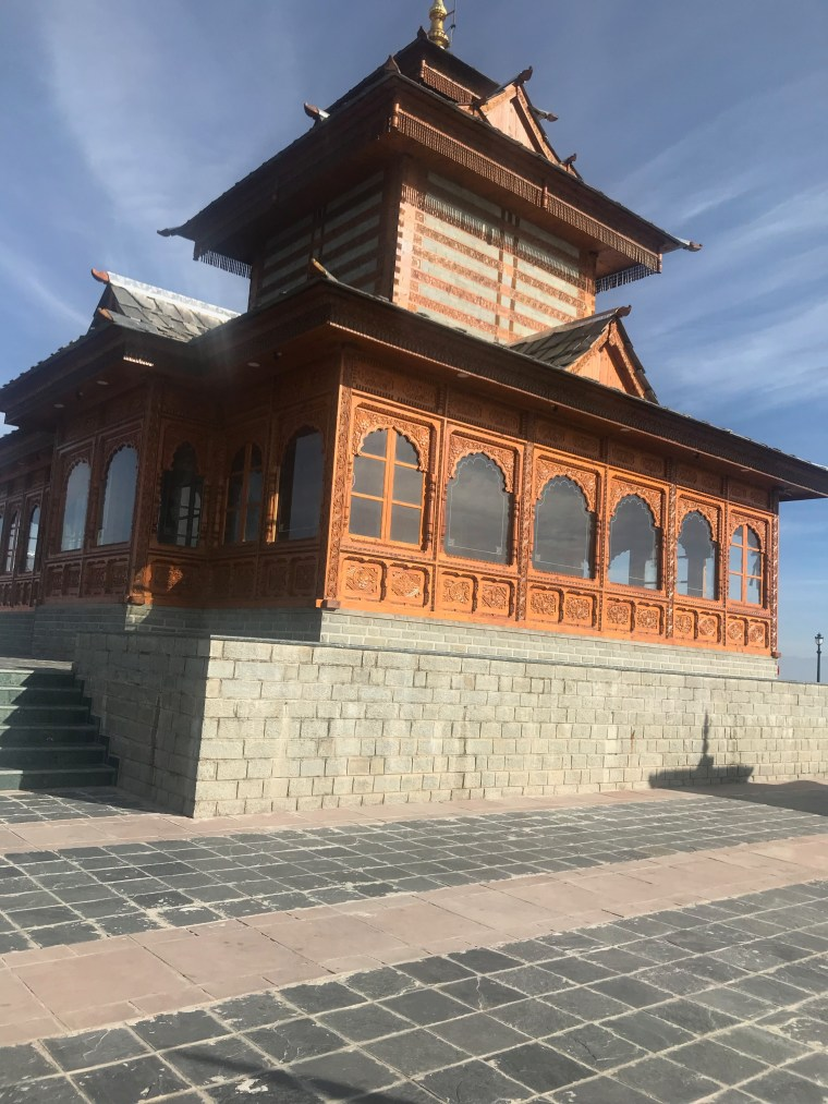 The Tara Devi Temple Building from another angle