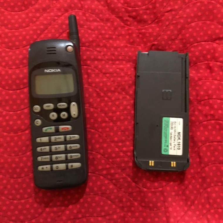 My Mobile Phone at that time. This was also the first Mobile Phone of my life