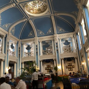Another view of the Restaurant at the Lalit Mahal Palace