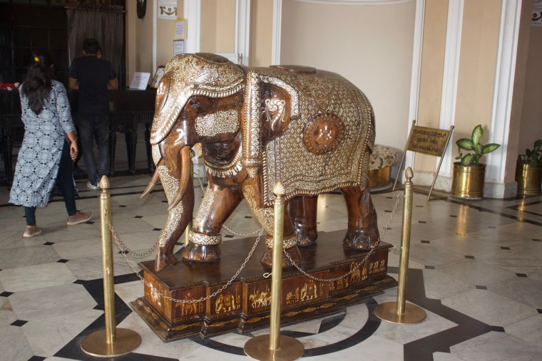 A beautiful Elephant Statue made of Rose Wood