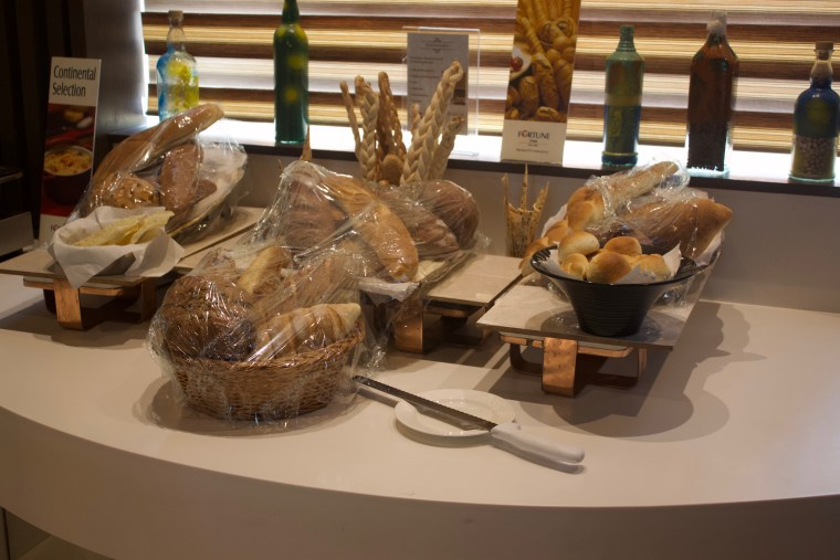 Selection of Bread in the Buffet
