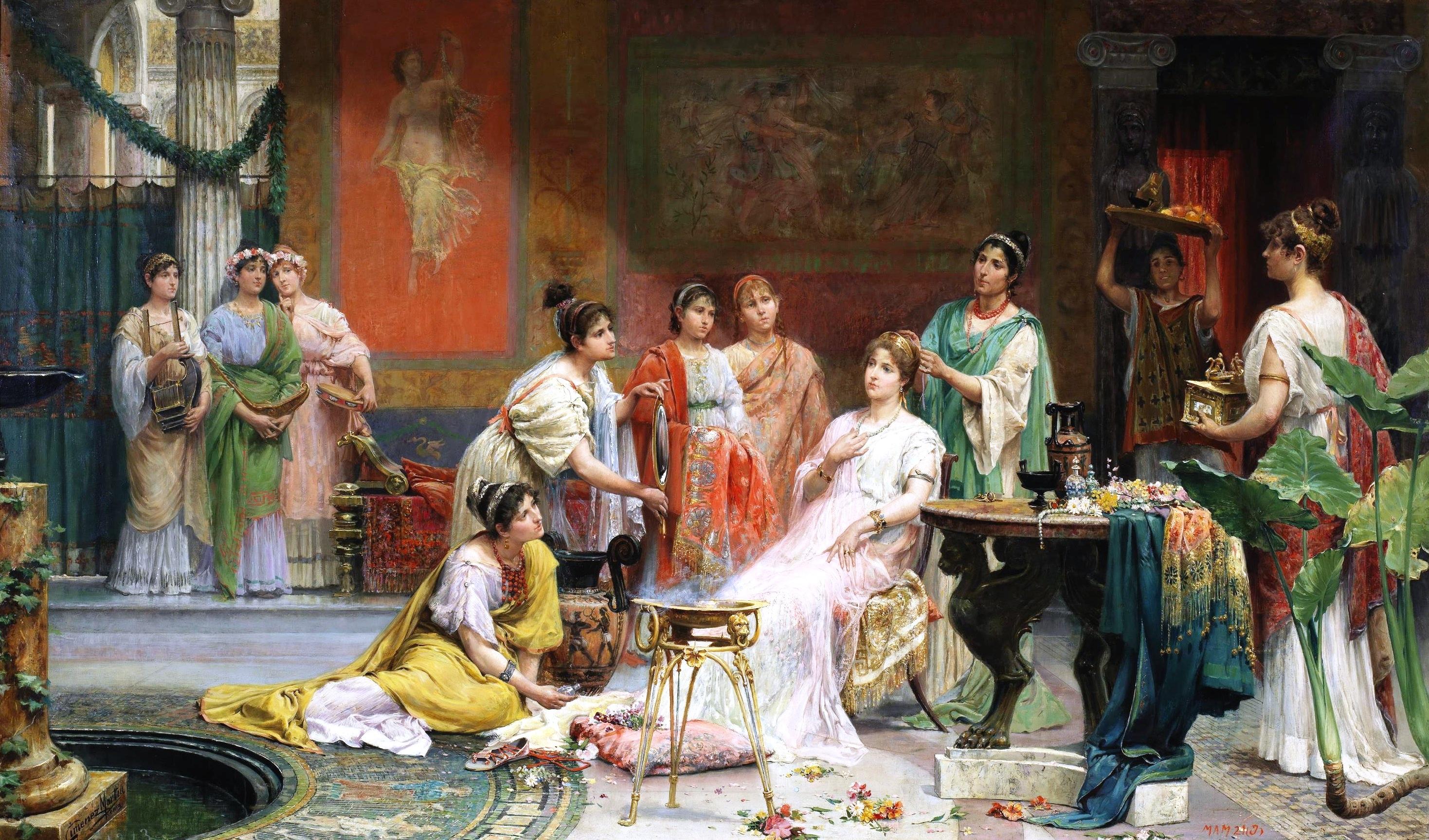 sex matronae Roman woman Roman wives