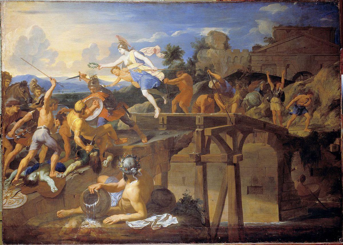 1280px-Le_Brun,_Charles_-_Horatius_Cocles_defending_the_Bridge_-_Google_Art_Project