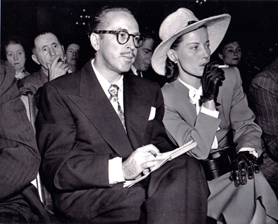 Dalton and Cleo Trumbo (1947 HUAC hearings)