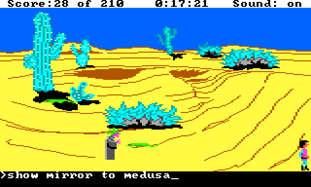 Medusa in King's Quest 3