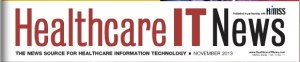 Healthcare IT News banner