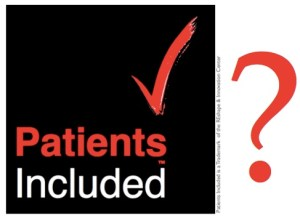 Patients Included badge with question mark