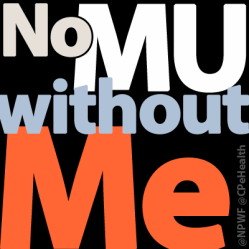 No MU without ME badge