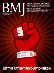 BMJ cover let the patient revolution begin