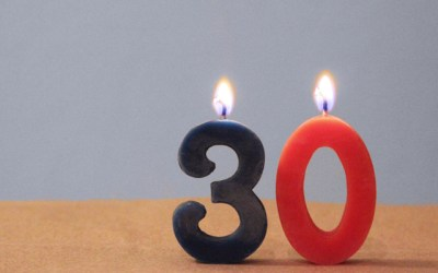 Got Candles? Happy 30th Birthday to the World Wide Web!