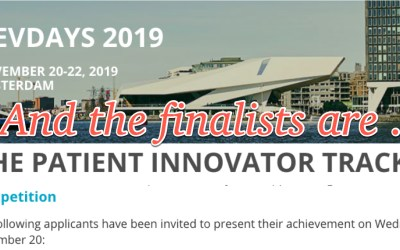 FHIR #DevDays announces Patient Innovator Track finalists: two companies, two patients!