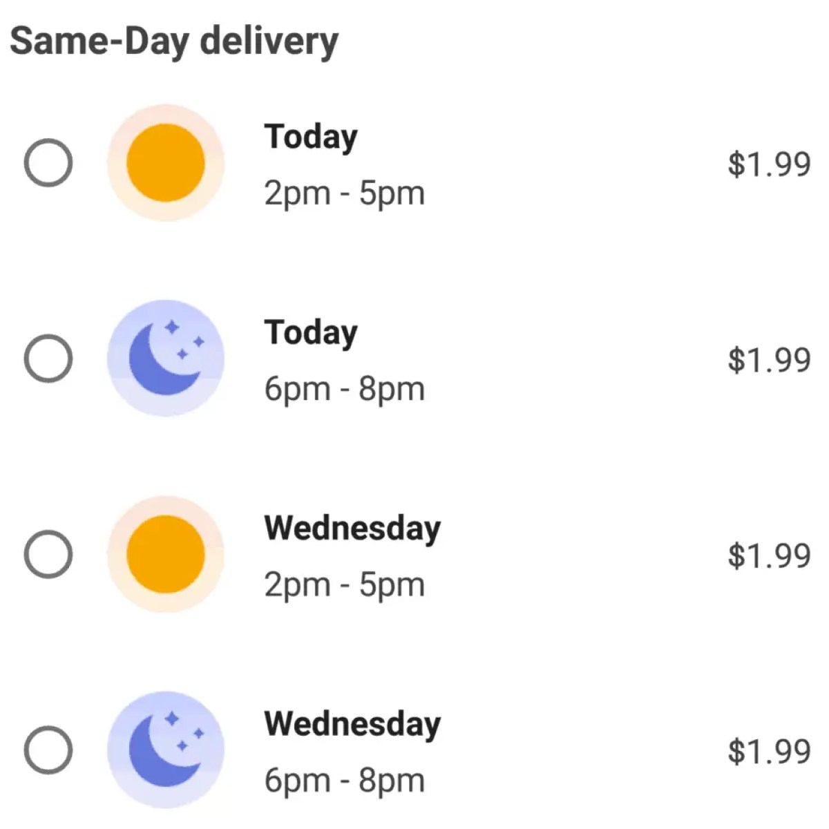 Instacart delivery fee