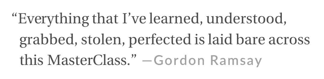 Gordon ramsay quote