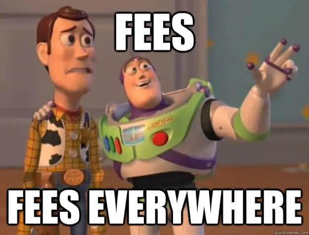 fees everywhere meme