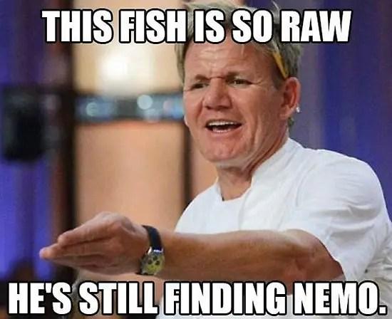 gordon ramsay fish meme