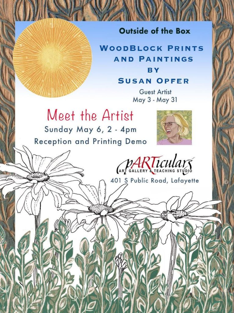 Susan Opfer- Guest Artist for May 2018