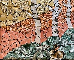 Featured Artist for December: ANN BARNSLEY  Ceramics & Mosaics