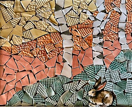 Featured Artist for December: ANN BARNSLEY  Ceramics & Mosaics