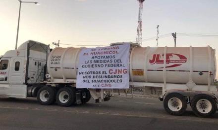 """Se deslinda el CJNG de huachicol y """"apoyan"""" al gobierno federal"""