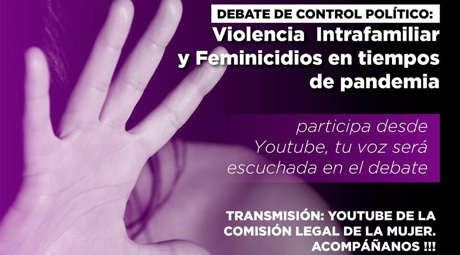 Debate de control político de la senadora Aída Avella: Paren la violencia contra la mujer
